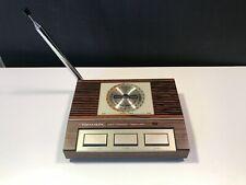 Vintage Realistic Weatheradio Timekube  -   Model 12-148 - Works