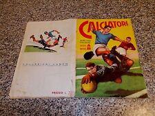 ALBUM CALCIATORI 1959 1960 COMPLETO PROVA LAMPO FIGURINE CARTONATE UNICO IN ITAL
