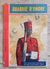 Guardie d'onore - enciclopedia dei costumi suppl. INTREPIDO n.6   1962