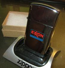 Vintage RARE 1972 NEW EXXON GAS OIL slim ZIPPO LIGHTER NEW NICE UNUSED