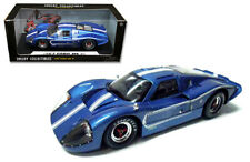 1/18 Shelby Collectibles 1967 Ford MK IV with Stripes Diecast Model Blue SC421