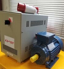 1kW Rotary Phase changer converter - 240V Single Phase to Three Phase 415V