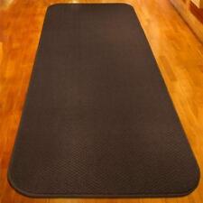 20 ft x 27 in SKID-RESISTANT Carpet Runner CHOCOLATE BROWN hall area rug