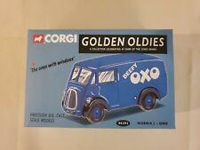 CORGI - GOLDEN OLDIES 06202 MORRIS J VAN - OXO