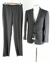 Herren Anzug NEU Gr. 46 Slim Fit Sakko Hose Business Suit Jacket Pants