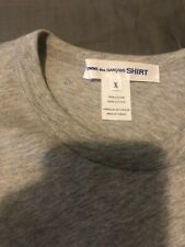 Comes Des Garcons Gray T Shirt X