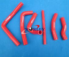 silicone radiator hose for HONDA CR250R CR 250 2000-2001 00 01,RED