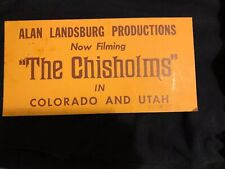 The Chisholms PARKING CARD