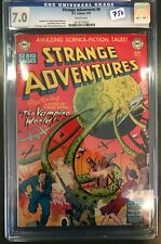 1951 Strange Adventures #6 CGC 7.0