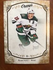 2015-16 UD Champs Gold Parallel #29 Ryan Suter Brand New