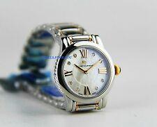 david yurman womanu0027s steelsilver rose 18k gold sapphire watch mop diamond 30 mm