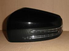 Mercedes A B C E Wing Door Mirror Cover Passenger Left LED Indicator Black 9197