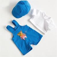 Puppen Kleidung Latzhose Mütze Shirt für 43 cm Puppen Babypuppen, Nr.  2475