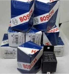 10 PACK -- 12V 30A Relay Bosch 0332209150  5-Pin -- 1 YR Exchange Warranty
