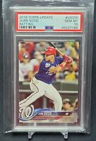 2018 Topps Update Batting Juan Soto #US300 Rookie PSA 10 RC  GEM MINT Invest