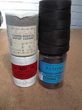 3 & 4 Cord No.30 No.2 Flax Linen Thread Reverse Twist Polycord Leather not Nylon