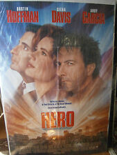 Authentic Hero Movie Poster Dustin Hoffman Geena Davis Andy Garcia 1992