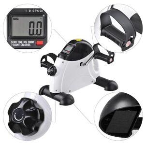 Mini Pedal Exerciser Bike Fitness Cycle Arm & Leg LCD Display Home Gym Portable