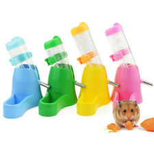 KE_ Pet Fat Hamster Water Drinker Dispenser Food Stand Hamster Feeder Bowl Bot