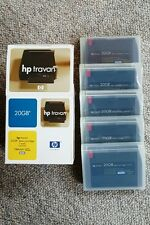 HP Hewlett Packard 5 pack of Travan 20 GB Data Cartridges (C4435D) - New