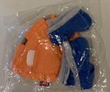LEGO Orange Duplo Cloth Tent & (2) Blue Jacket Coats Eskimo 3610 3621 Vintage