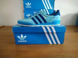 Adidas Originals Jeans Mint Blue Size 9 UK BNIBWT