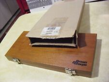 Brown & Sharpe Wood Case # 599-181-9998 For 4 Piece Micrometer Set