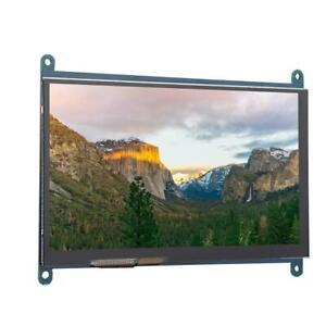 Pour écran LCD Raspberry Pi 7 pouces HDMI 1024x600 Écran tactile capacitif