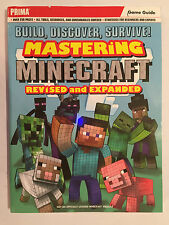 MASTERING MINECRAFT PRIMA GAME STRATEGY GUIDE BUILD DISCOVER SURVIVE! Rev & Exp