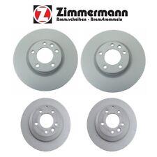 Touareg Cayenne Front & Rear 360mm and 330mm Brake Disc Rotors KIT Zimmermann