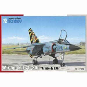 Special Hobby Spec72388 Mirage F.1C/ C-200 Armee de l Air 1/72