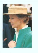 p3219 - Princess Alexandra at Kingston Surrey in 1990 - Royalty postcard