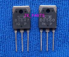1pair(2pcs) Original 2SB1647 & 2SD2560 SANKEN Transistor B1647 & D2560