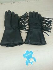 Vintage motorcycle gauntlet gloves insulated harley indian nos!! MEDIUM SIZE