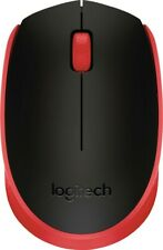 Logitech - M170 Mouse - Red