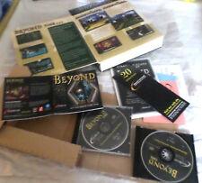BEYOND TIME rare foldout BigBox,2pristine CDs,artwork JC,UserGuide,Clues.LIKE NU