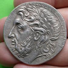 MEDAILLE Grèce Antique 41mm Argent 41gr titre 950/1000 Monnaie de Paris 1977
