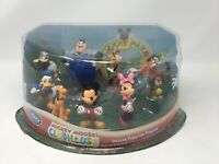 Disney Mickey Mouse Clubhouse Deluxe 9 Figurine Playset New, PVC