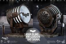 1/6 Hot Toys DC The Dark Knight Rises MMS275 Bat Signal DEL no John Blake NEUF