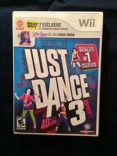 Just Dance 3 Best Buy Exclusive Nintendo Wii 2011 #C