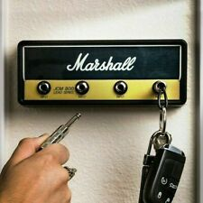 Marshall Jack Rack JCM800 Gitar Schlüsselanhänger Schlüsselbrett mit 4 Anhängern