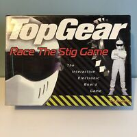 Top Gear Race The Stig Game BBC Interactive Electronic Board Game Age 7-Adult