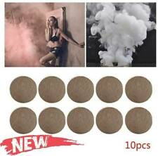 10Pcs Smoke Cake White Bomb Effect Show For Photography Props Stage Toy Aid D6H9