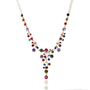 Fashion Jewelry Pendant Chain Choker Chunky Statement Bib Collar Necklace New