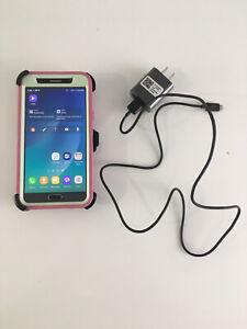 Samsung Galaxy Note 5 Sprint Lock 32GB SM-N920P Midnight Black Cell Smart Phone