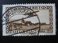 SAAR SAARLAND Mi. #159 scarce used stamp! CV $145.00