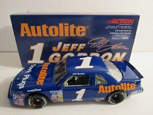 JEFF GORDON #1 AUTOLITE 1989 FORD THUNDERBIRD  ACTION 1/24 BWB XRARE NICE!!!