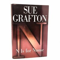 1st Edition/1st Printing SIGNED Fine/Fine N is For Noose Sue Grafton