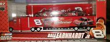 2007 Dale Earnhardt Jr. #8 Budweiser Hauler Tin Set 1:64 NASCAR Diecast RARE