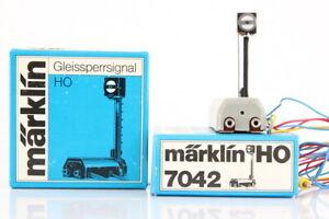 H0 Märklin 2x 7042 Gleissperrsignal Konvolut OVP Signal/J18